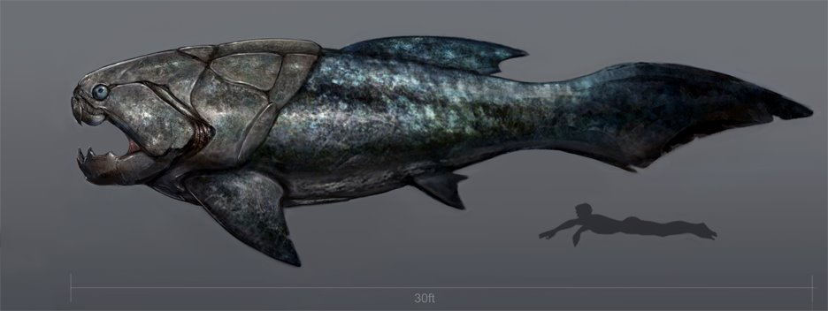 Ancient Animals and Their Fakemon: Introduction and Dunkleosteus | The Unapologetic Nerd