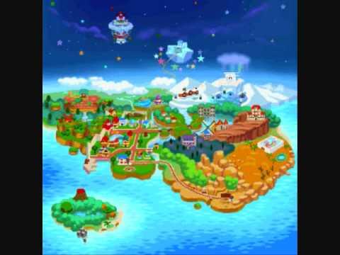 paper mario map