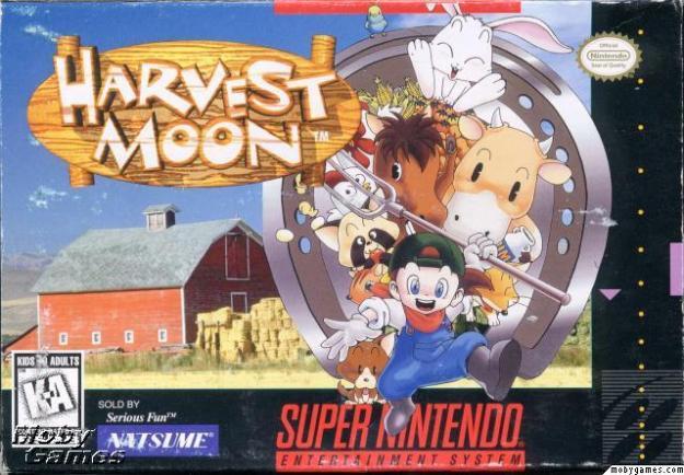 Gender Roles in Harvest Moon (SNES) | The Unapologetic Nerd